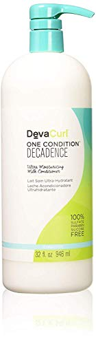 DevaCurl One Condition Decadence - Hair Conditioner (Women, Curly Hair, Moisturising, Softening, Bottle, Chufa Milk: Rich in Vitamins and Minerals to Nourish, Moisturise and Revitalise Hair, Apply a Generous Amount of Conditioner to Wet Hair and Use Your Fingers to Gently Detangle your Curl)