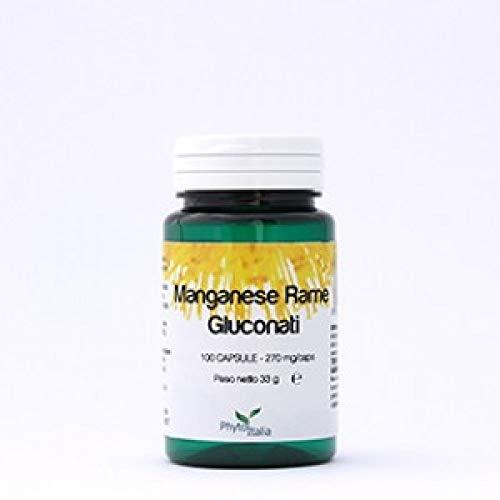 Phytoitalia Manganese Rame, 100 Compresse - 30 g