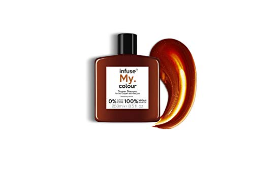 Infuse My.Colour Pigment Infused Shampoo To Enhance Vibrancy and Tonal Longevity Of The Colour Hair, 250 Ml, Copper