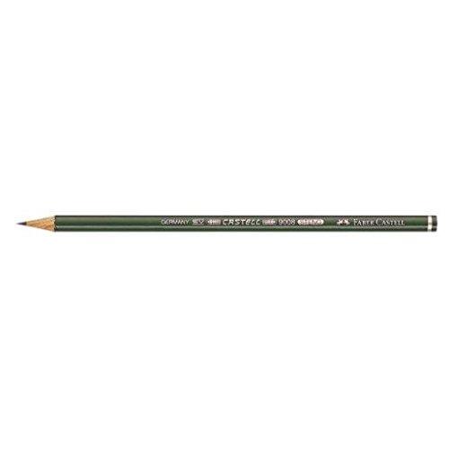 FABER-CASTELL Steno Bleistift CASTELL 9008, Härtegrad: B VE=12