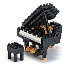 Nanoblock 3D-Puzzle Piano - Schönes Geschenk für Musiker