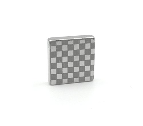 Tie Mags Checkmate - Silver - Magnetic Tie Clip