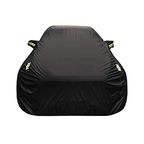 Couverture de voiture Compatible avec les vêtements de voiture de couverture de voiture de Corolla de Toyota épais Oxford chiffon pare-soleil pluie protection housse de voiture de tissu