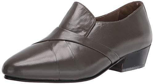 Giorgio Brutini mens 24461 Slip-on oxfords shoes, Grey, 11 US