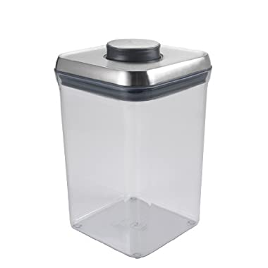 OXO SteeL POP Container – Airtight Food Storage – 4 Qt for Flour and More
