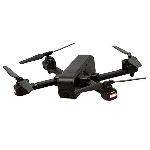 Maginon Quadkopter QC 90 GPS, Drohne mit WiFi-Bildübertragung und GPS - inklusive HD-Kamera, optimal für Anfänger geeignet durch Headless Flugmodus, eingebautes 6-Achsen Gyrokop für stabile Fluglage