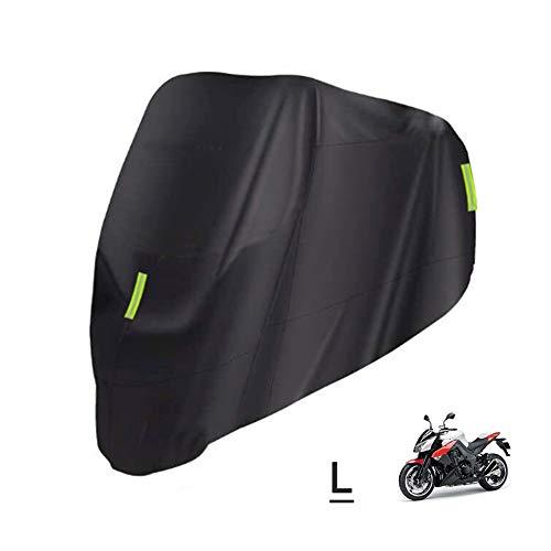 Sunydog Cubierta Universal para Motocicleta: protección Impermeable al Aire Libre para Todas Las Estaciones contra Polvo, escombros, Lluvia y Clima (M-XXXXL) Reemplazo de Tela 210D Ox para, Suzuki,
