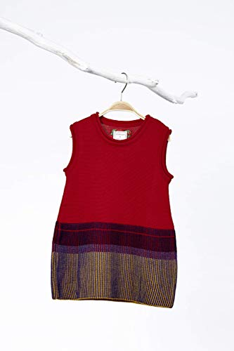 SOMMER und KINDER Strickkleid aus reiner Merinowolle