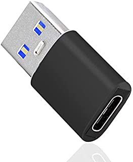SIKAMI USB Type C (メス) to USB 3.1 (オス) 変換アダプタ USB 3.1 10Gbps 高速データ転送for iPhone 11 12 Mini Pro Max、Airpods iPad 2018 Air 4 ...