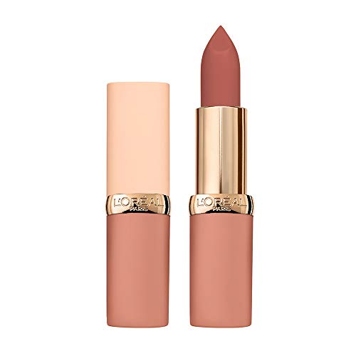 L\'Oréal Paris Color Riche Ultra Matte Free the Nudes 03 No Doubts, farbintensiver Lippenstift im zarten Nude-Ton, ultra-mattes Finish