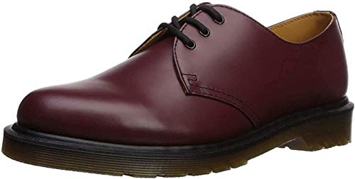 Dr. Martens Unisex 1461 Smooth Derby, Rot (Cherry RED), 37 EU