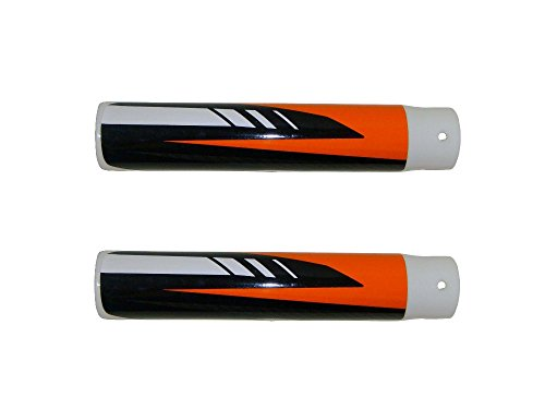 Affordable TOXOZERS Left and Right Fork Cover Set for 24v Dirt Bike