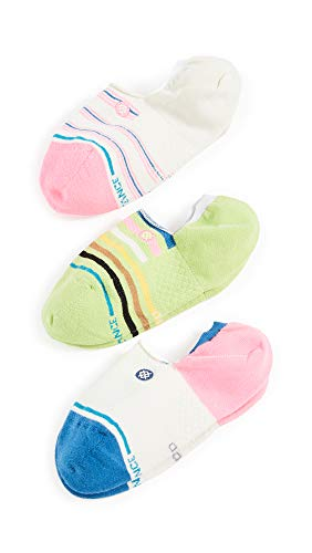 Stance Treaty 3 Pack Womens Fashion Socks Small Multi
