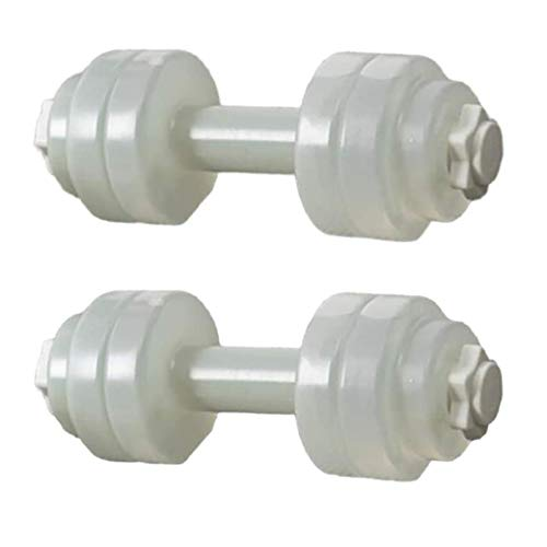 Weights Dumbbells Water Filled Dumbbells Aerobics Exercise Equipment Portable Travel Barbells for Fitness Body Shaping…