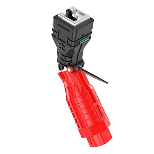 Chiave pieghevole tubo di acqua del rubinetto Chiavi Strumenti 18 in 1 tubo Chiave per la cucina servizi igienici bagno idraulica repairment