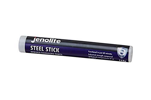 Jenolite 112g Reparaturmasse Stahl, Stahlreparatur -Industriestärke - Wiederaufbau und Reparatur aller Metalle