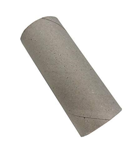 TEXTIMO Papprollen zum Basteln, Bastelrollen, Rolle aus Pappe, Papphülsen grau, Leere Toilettenpapierrollen 10 Stück à 9,8x4cm