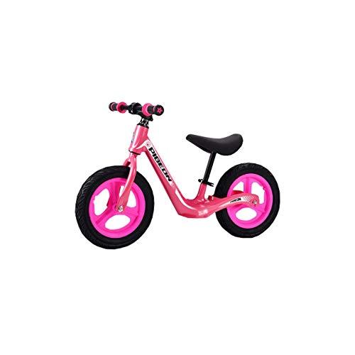MIAO. Bicicleta de Balance Infantil Sin Pedal Scooter de aleación de magnesio 2 años 3 niños Scooter de 14 Pulgadas Bicicleta bebé,3