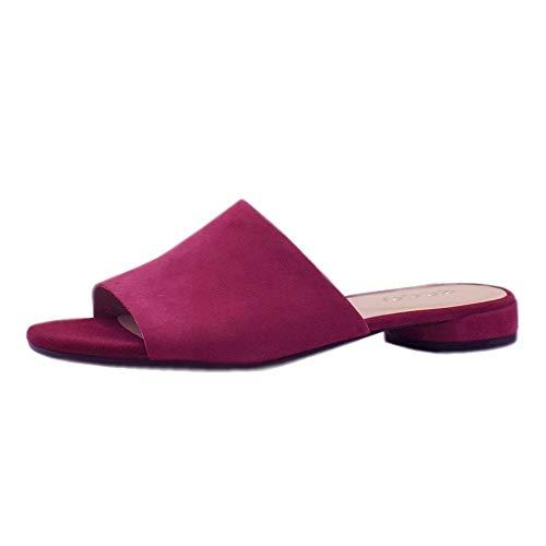 Ecco Damen WFLATSANDALII Pantoffeln, Pink (Sangria 5422), 39 EU