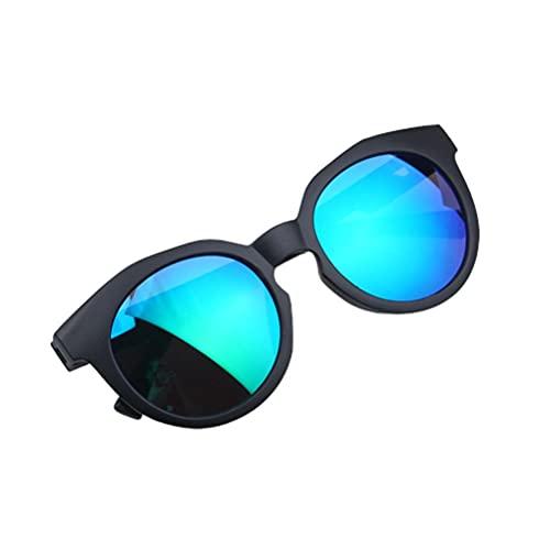 BASOYO Gafas de sol polarizadas con protección UV segura, cómoda y resistente al impacto, cómodas gafas de sol para niños/niñas