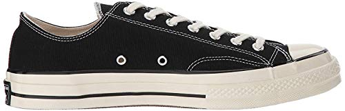 Converse Unisex-Erwachsene Taylor Chuck 70 Ox Sneakers, Schwarz (Black/Black/Egret 001), 43 EU