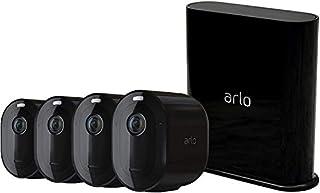 Arlo Pro 3 | caméra de surveillance Wifi, Batterie rechargeable Alarme Grand angle 160° Audio Bi-directionnel Eclairage spotlight intégré - Edition noir Pack de 4 caméras (VMS4440B) (B083YDPCQW) | Amazon price tracker / tracking, Amazon price history charts, Amazon price watches, Amazon price drop alerts