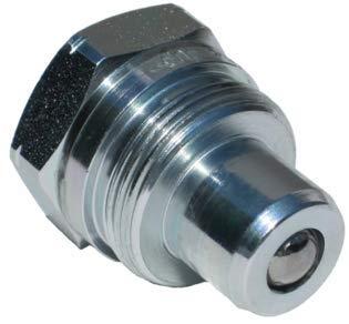 Hydraulische Stecker Kupplungen 3/8 Zoll NPT Kugeldichtung – 720 Bar WP – Austausch: Enerpac C-604