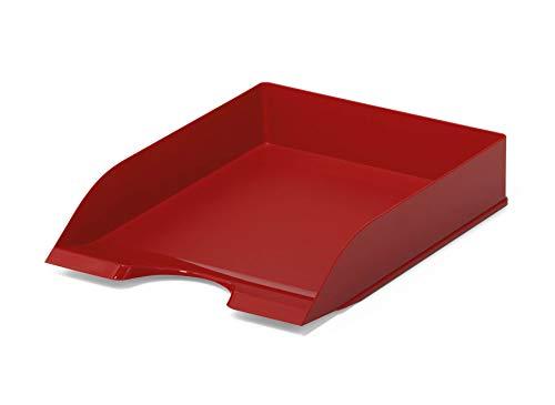 Durable 1701672080 Basic Vaschetta Porta Corrispondenza, Confezione da 1 Pezzo, Rosso