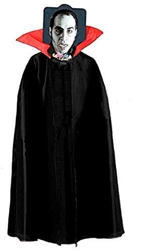 Inception Pro Infinite Talla única – Capa para disfraz – Disfraz de carnaval – Halloween – Vampiro – Demonio – Noble – Drácula – Adultos – Unisex – Mujer – Hombre – Niños