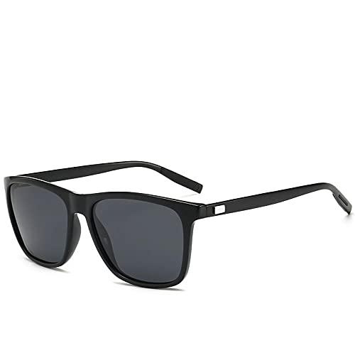 ShSnnwrl Único Gafas de Sol Sunglasses Gafas De Sol De Aluminio Retro Unisex para Mujer, Lentes Polarizadas para Hombre, Accesori