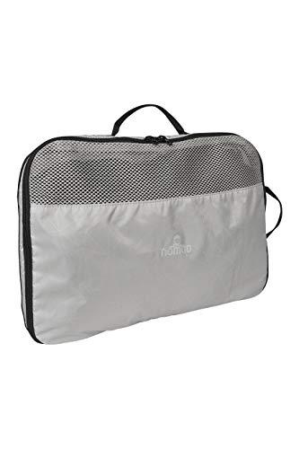 Nomad Box M bagageorganisator, Mist grijs, 26 x 18 x 11 cm