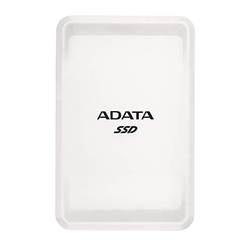 ADATA SC685, Solid State Drive, 500GB, USB-C 3.2 (10 Gbit/s), weiß