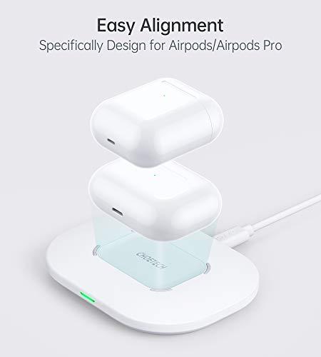 ワイヤレス充電器15Wqi急速充電器iPhone/Android対応置くだけ充電QC3.0アダプター付きiPhone12/iPhone12mini/iPhone12Pro/iPhone12ProMax/iPhone11/11Pro/11ProMax/SE2/XS/XSMax/XR/X/8/8Plus/Airpods2/AirpodsP