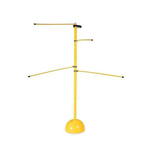 chlius Dispositivo de entrenamiento Dribble Stick de baloncesto, entrenador de baloncesto, fitness, entrenador de entrenamiento, equipo de baloncesto, color amarillo