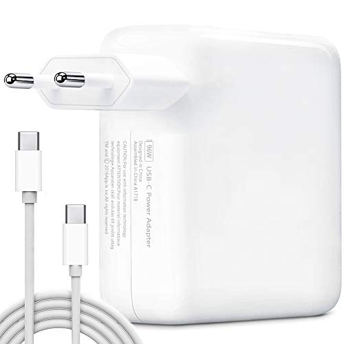 USB C Caricatore, HUMTOOL 96W USB C Adattatore per Mac Book Pro, 96W Type C Caricatore Compreso cavo USB C Compatible con Mac Book Air/Pro/Retina, iPad Pro, iPhone 11/11 Pro/Pro Max, HUAWEI, SAMSUNG