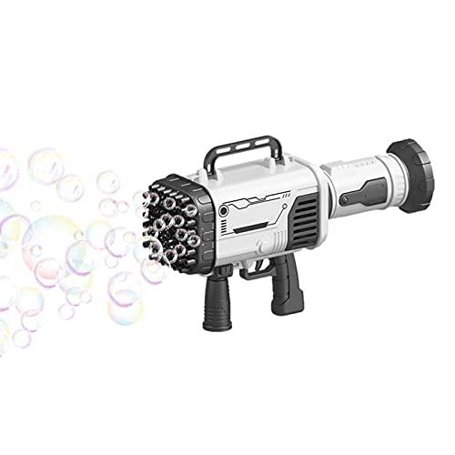 Máquina De Burbujas Niños, Pistola Pompas Jabón, Máquina De Burbujas Profesional, Pistola De Burbujas Para Niños Y Niñas, Juguetes Para Exteriores Para Niños