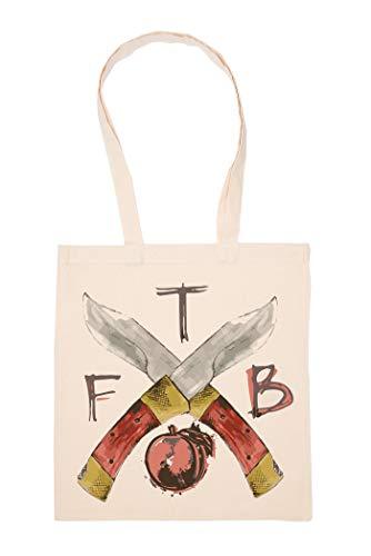 Tfb Peach Tasche Wiederverwendbar Einkaufen Lebensmittel Baumwolltuch Tote Reusable Shopping Bag
