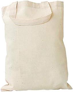 a34ddc5395 Sac en coton à anses courtes, H 42 x l 38 cm