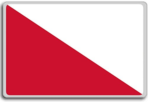Nederland, Utrecht City vlag koelkast magneet