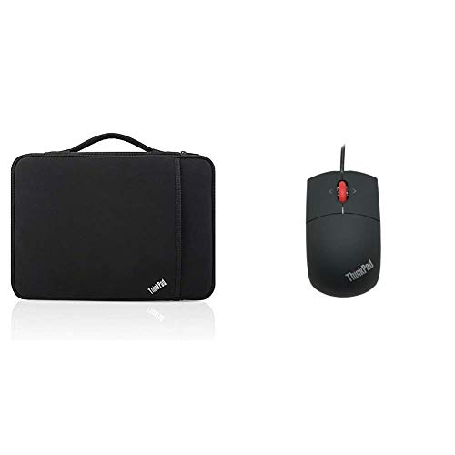 LENOVO ThinkPad 36cm 14Zoll Sleeve & ThinkPad 57Y4635 Laser Maus USB 2.0