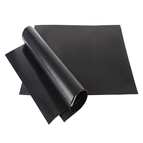 GrillonHill Premium Grillmatte (2er Set) - zum Grillen und Backen [40 x 33] I Teflon Antihaftbeschichtung, wiederverwendbar für Gas-, Kohle-, Elektrogrill und Backofen, Dauerbackfolie, Backmatte