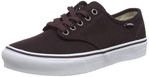 Vans Camden Stripe, Zapatillas de Entrenamiento para Mujer, Rojo (Menswear), 38.5 EU