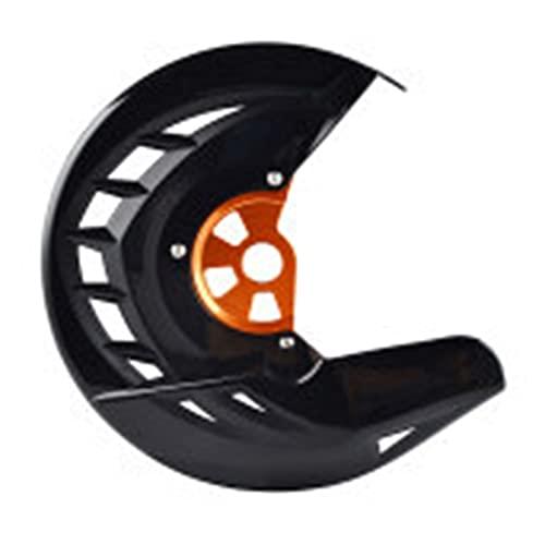 wuwu Protector de disco de freno delantero GAURD FIT for HUSQVARNA TE FE 125 250 300 350 449 450 480 501 2014 2015 (Color : Black and orange)