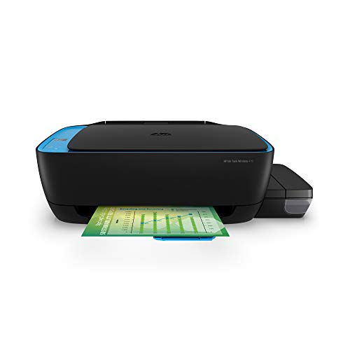 HP Ink Tank 419 WiFi Colour Printer, Scanner and Copier for Home/Office, High Capacity Tank (15,000 Black and 8000 Colour),Low Cost per Page(10paise for B/W and 20 Paise for Colour), Borderless Print