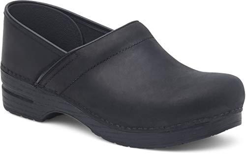 Dansko Damen Professional Clog, Black Oiled, 35.5/36 EU