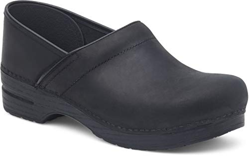 Dansko Women's Professional Black Oiled Clog 9.5-10 M...