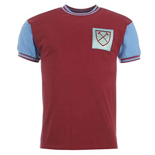 Score Draw Hombre West Ham United 66 Camiseta Deportiva Claret/Azul S