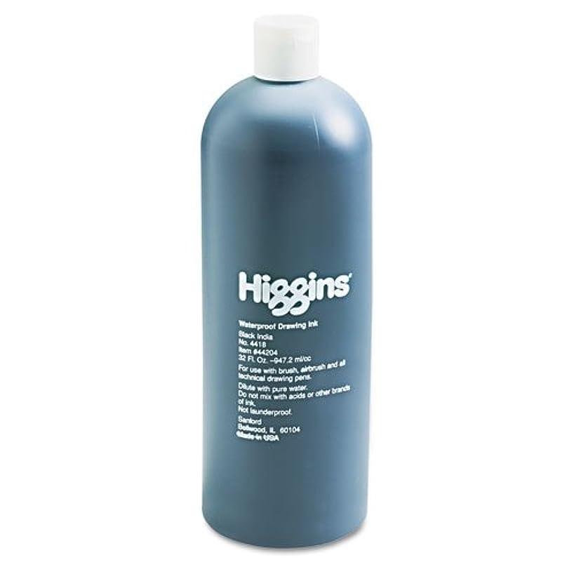 Higgins Waterproof Black India Ink