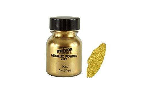 Mehron Metallic Powder Make Up (Gold)