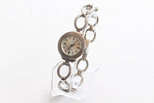 Unbekannt Schöne Armbanduhr Damenuhr Civis 17 Rubis Gehäuse aus Silber 835 dezent edel